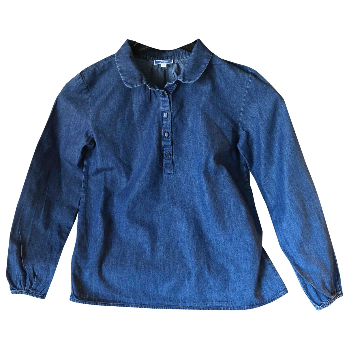 Jacadi \N Blue Cotton  top for Kids 12 years - XS FR