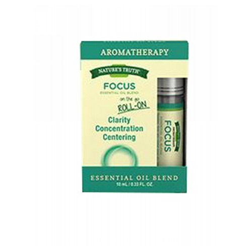Essential Oil Focus Roll On .34 Oz by Natures Truth