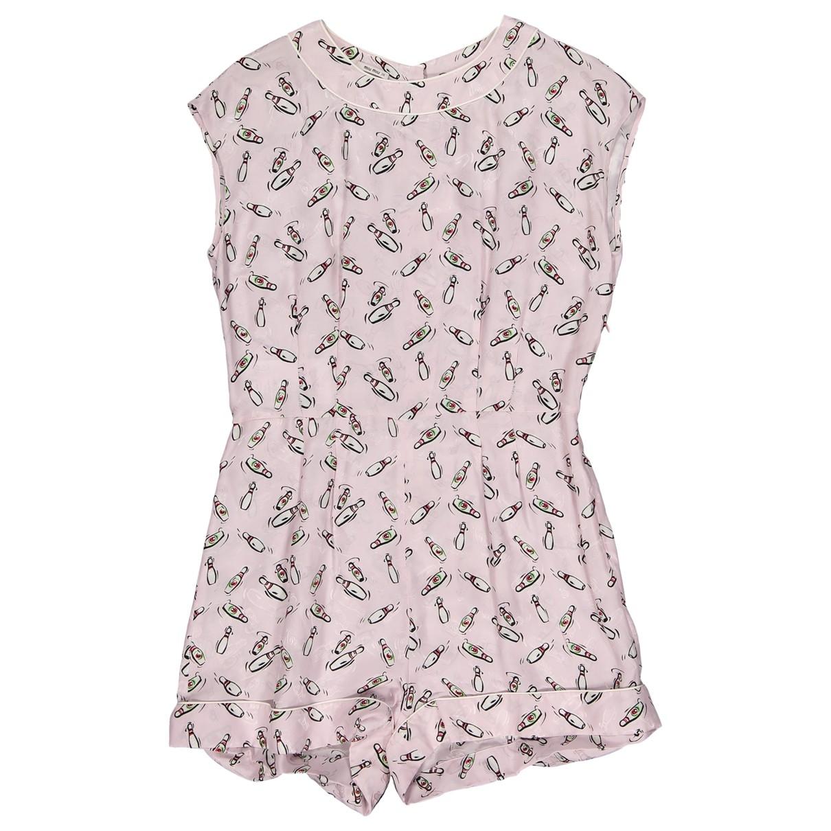 Miu Miu \N Pink jumpsuit for Women 38 IT