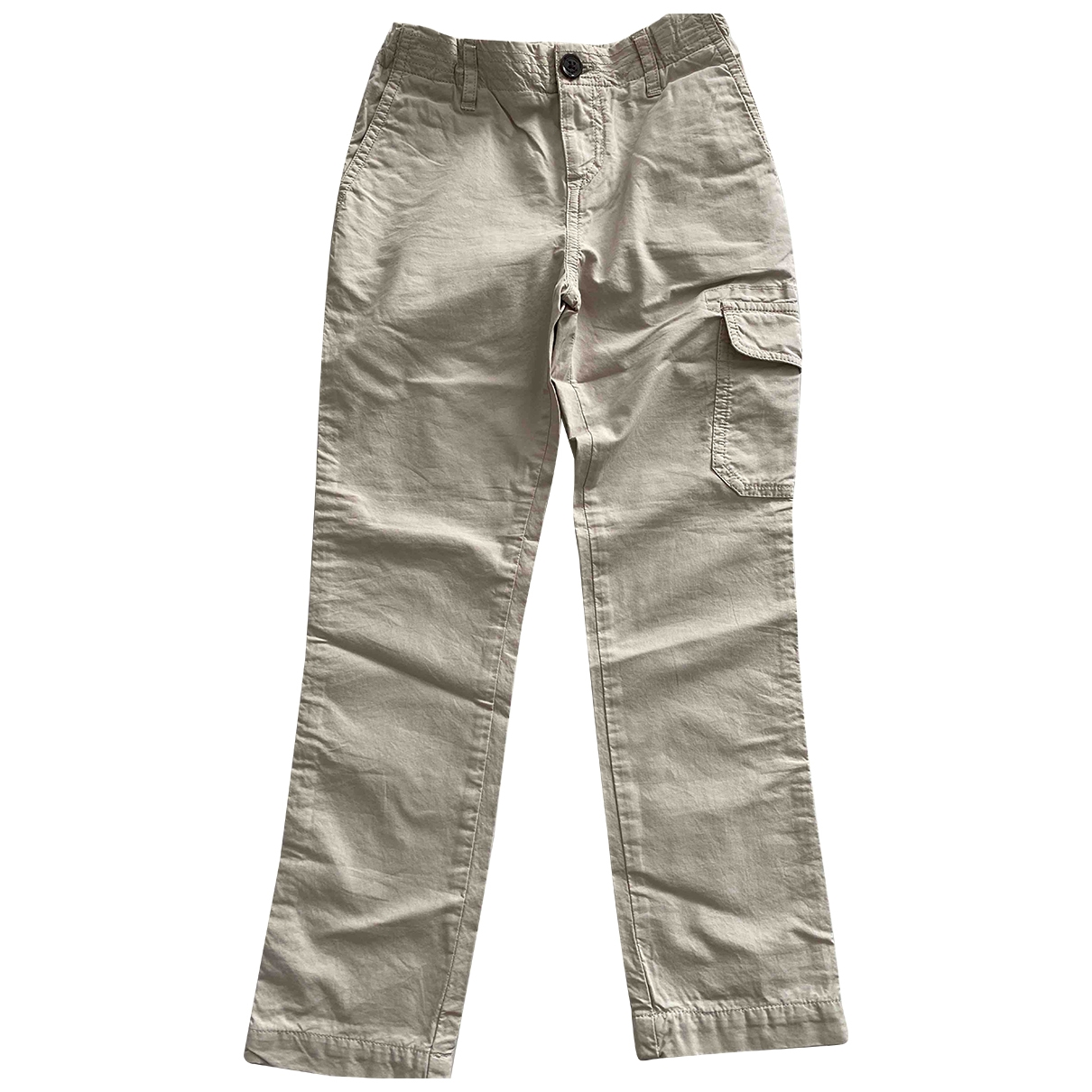 Burberry \N Beige Cotton Trousers for Kids 8 years - up to 128cm FR