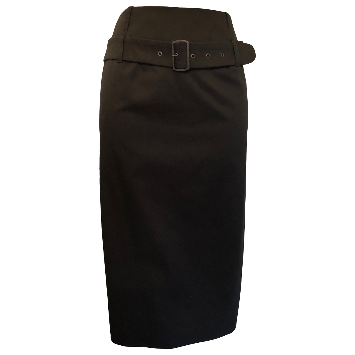 Gerard Darel \N Black Cotton - elasthane skirt for Women 38 FR