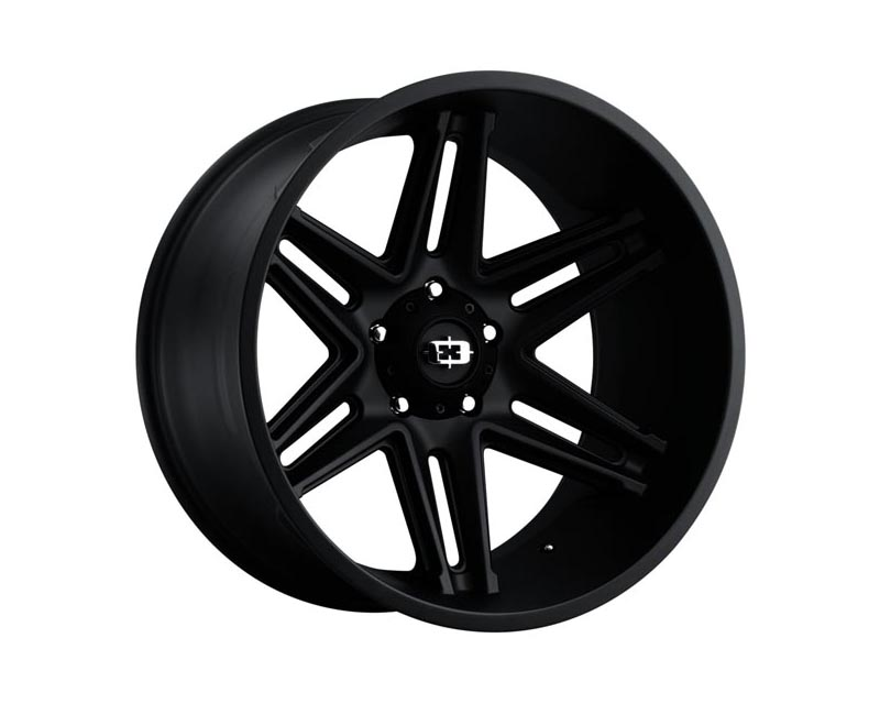 Vision Wheels 363-24283SB-51 Razor Wheel 24x12 6x139.70x51 BKMTXX Satin Black