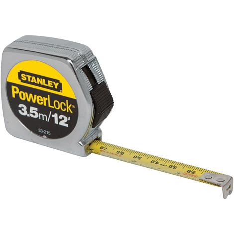 Stanley 3.5m/12 ft PowerLock® Tape Measure