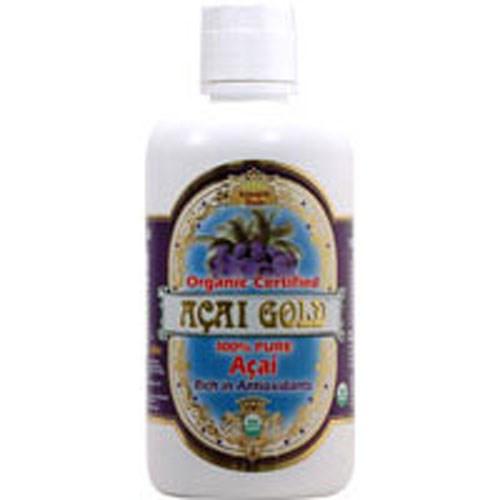 Acai Gold 100% Pure Organic Juice 32 Oz by Dynamic Health Laboratories