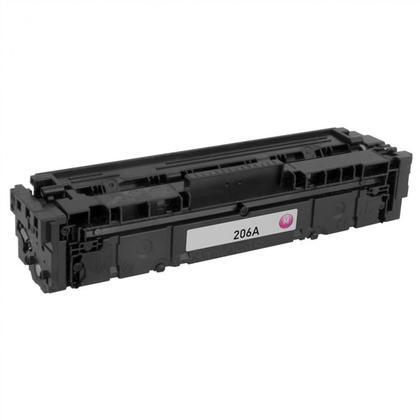 Compatible HP 206A W2113A Magenta Toner Cartridge - No Chip - Moustache®