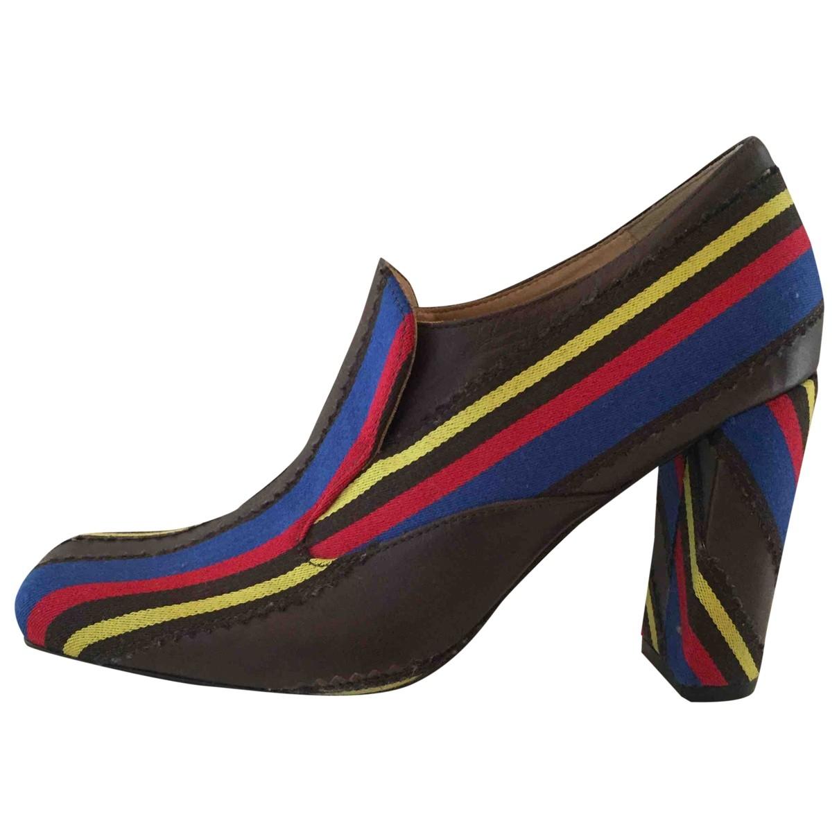 Aalto \N Multicolour Leather Heels for Women 37 EU