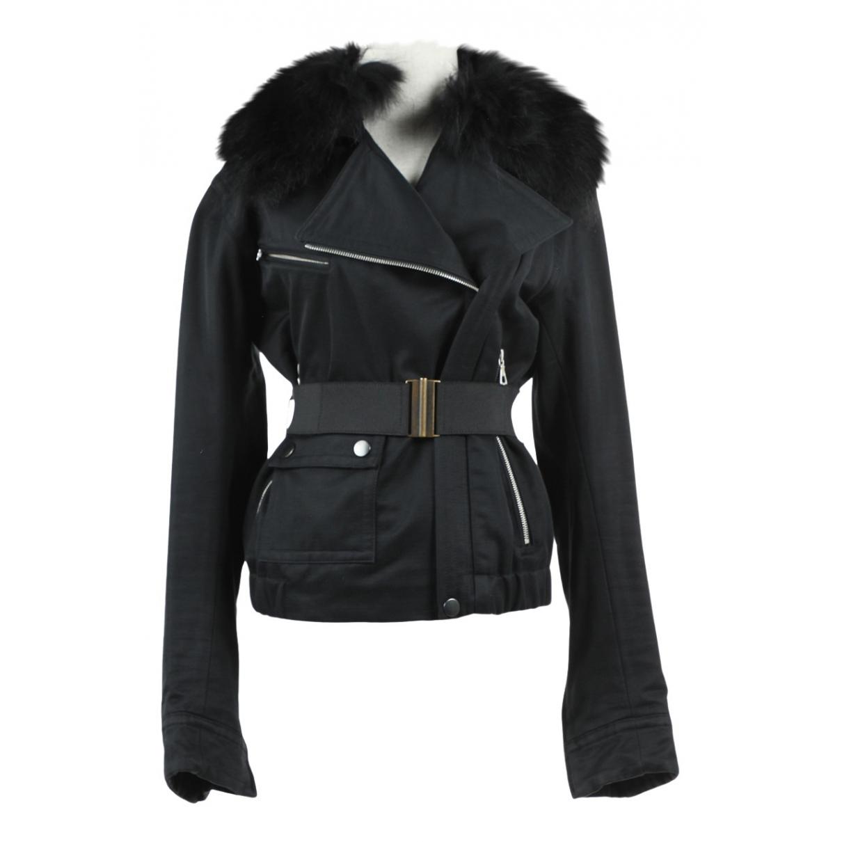 Dries Van Noten \N Black Cotton jacket for Women S International