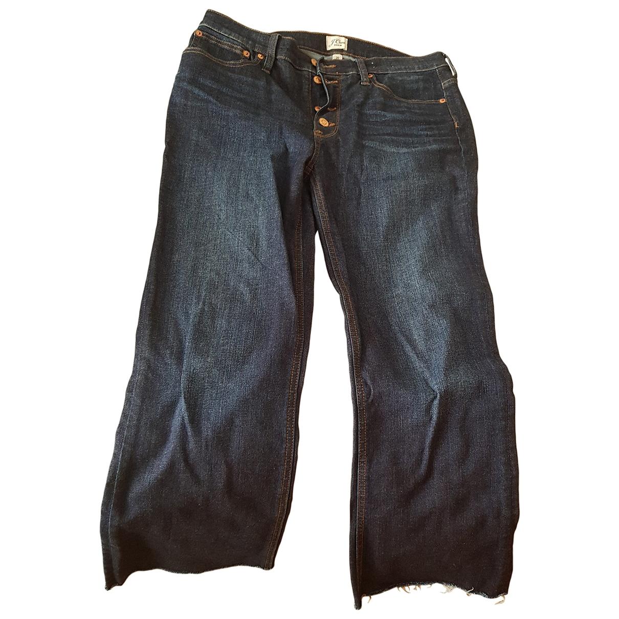 J.crew \N Navy Denim - Jeans Trousers for Women 42 FR