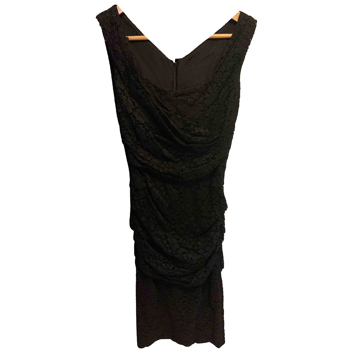 Dolce & Gabbana \N Black Cotton dress for Women 36 IT