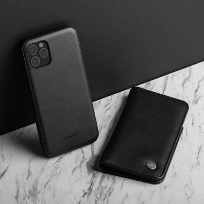 Overture Folio Case Charcoal Black for iPhone 11 Pro - Moshi