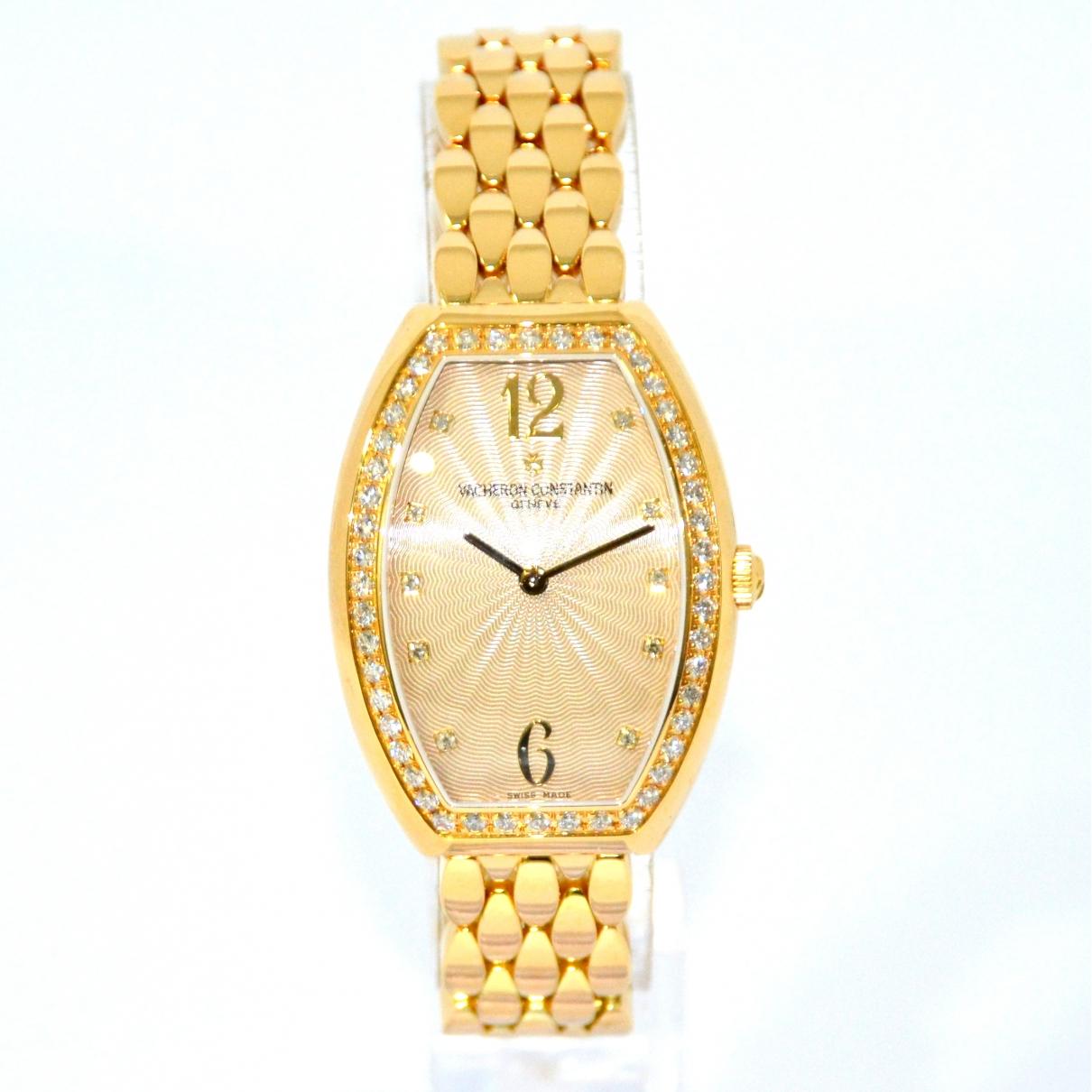 Vacheron Constantin Vintage Yellow gold watch for Women \N