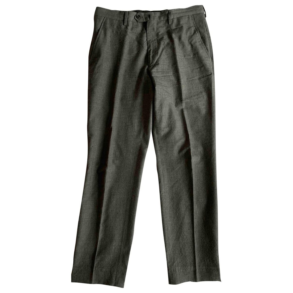 Margaret Howell \N Grey Wool Trousers for Men S International
