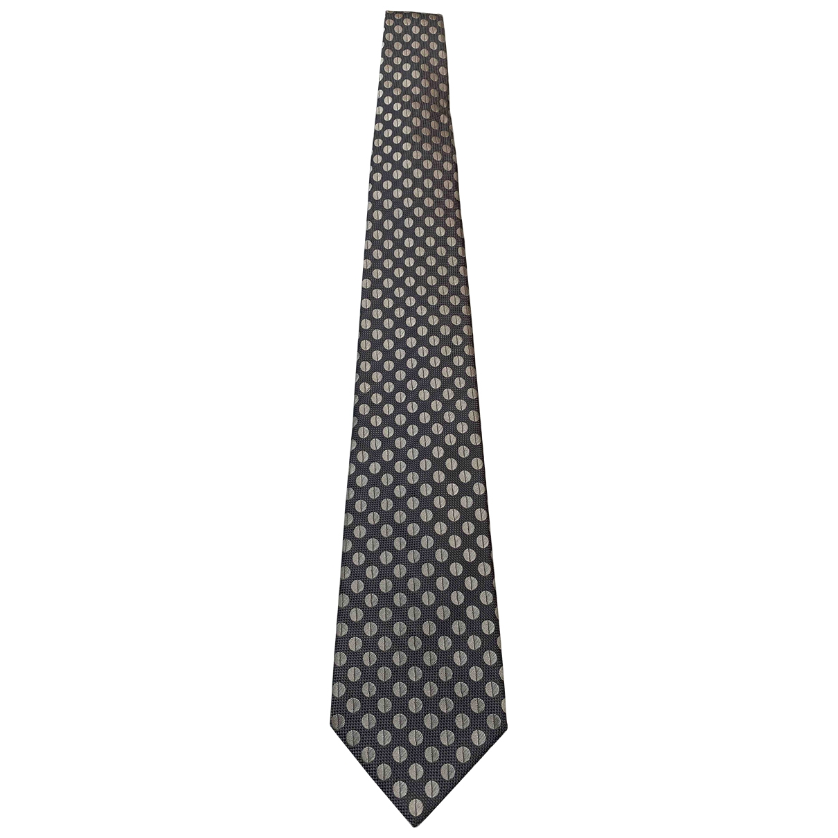 Charvet \N Grey Silk Ties for Men \N
