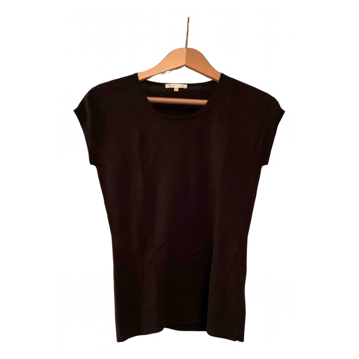 Paule Ka \N Black Silk  top for Women S International