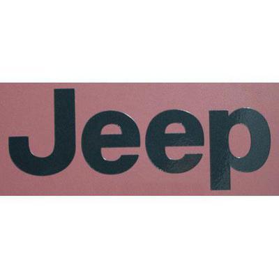 Jeep Wrangler Decal (Silver) - 5FC84HA9AB