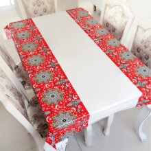 1pc Muslim Holy Month Decorative Tablecloth