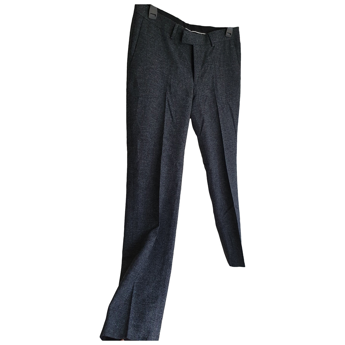 Tiger Of Sweden \N Grey Wool Trousers for Men 52 IT