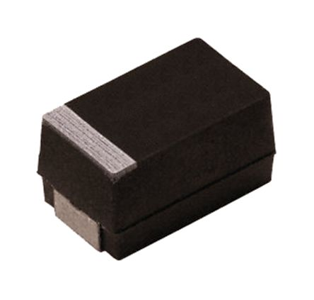 Vishay Tantalum Capacitor 220μF 4V dc MnO2 Solid ±10% Tolerance , TM3 (2)