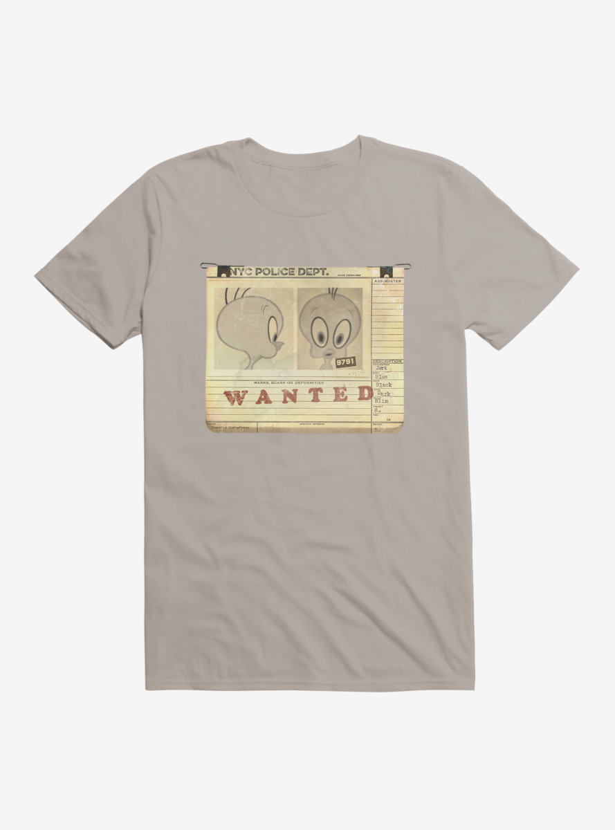 Looney Tunes Tweety Bird Wanted Poster T-Shirt