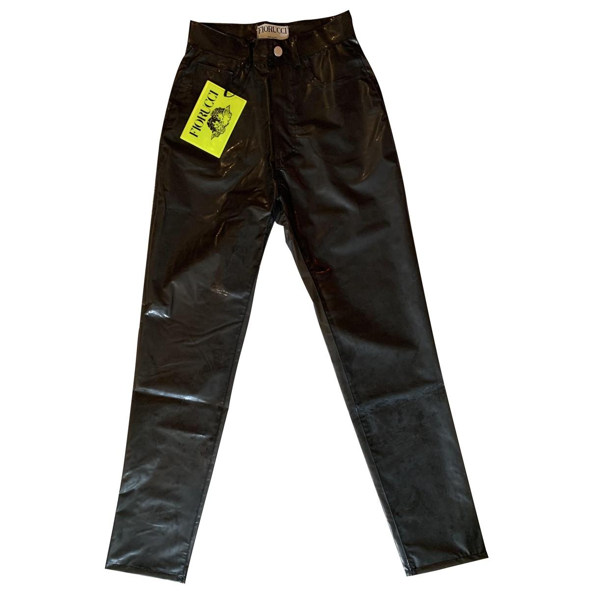Fiorucci \N Black Trousers for Women 34 FR