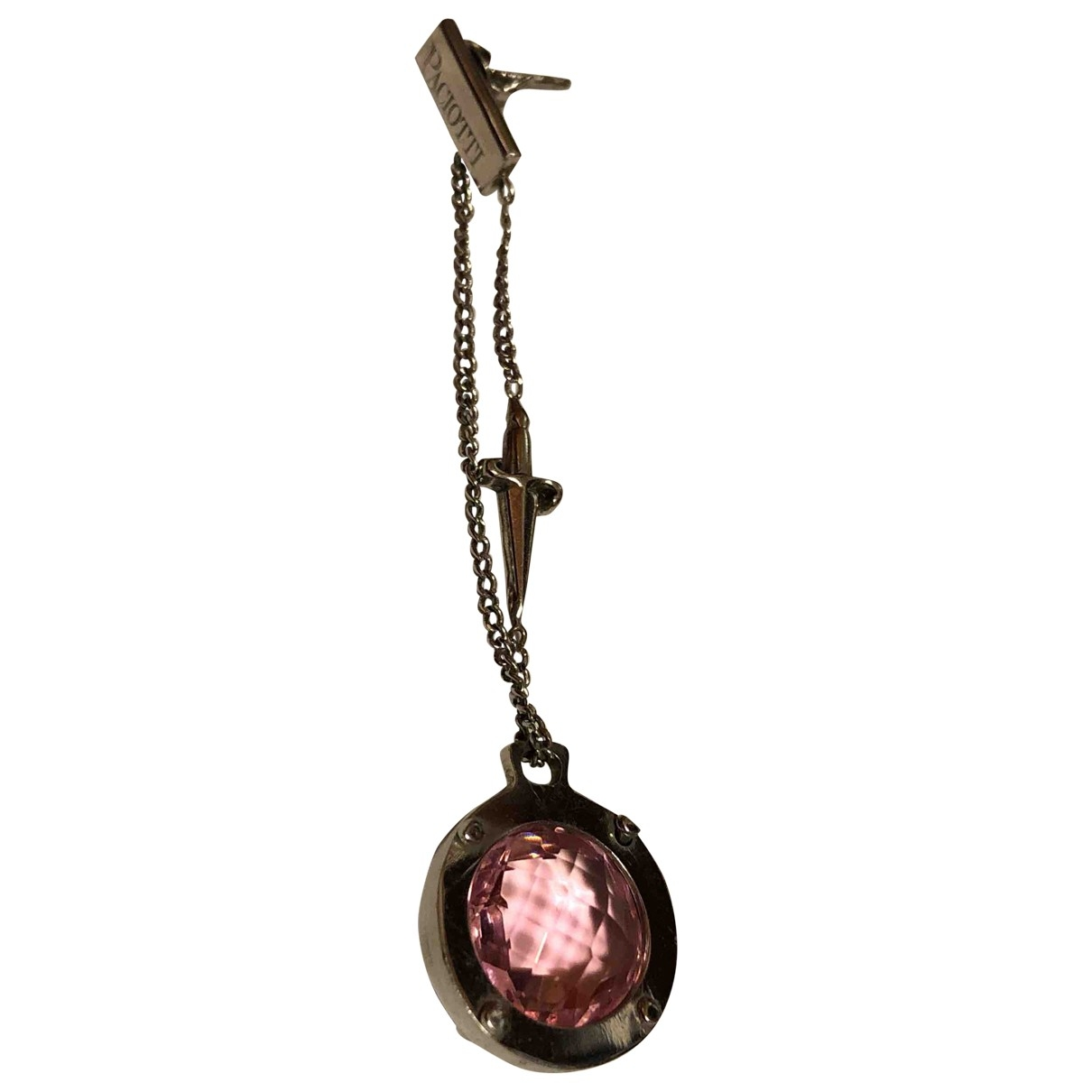 Cesare Paciotti \N Silver Steel Earrings for Women \N