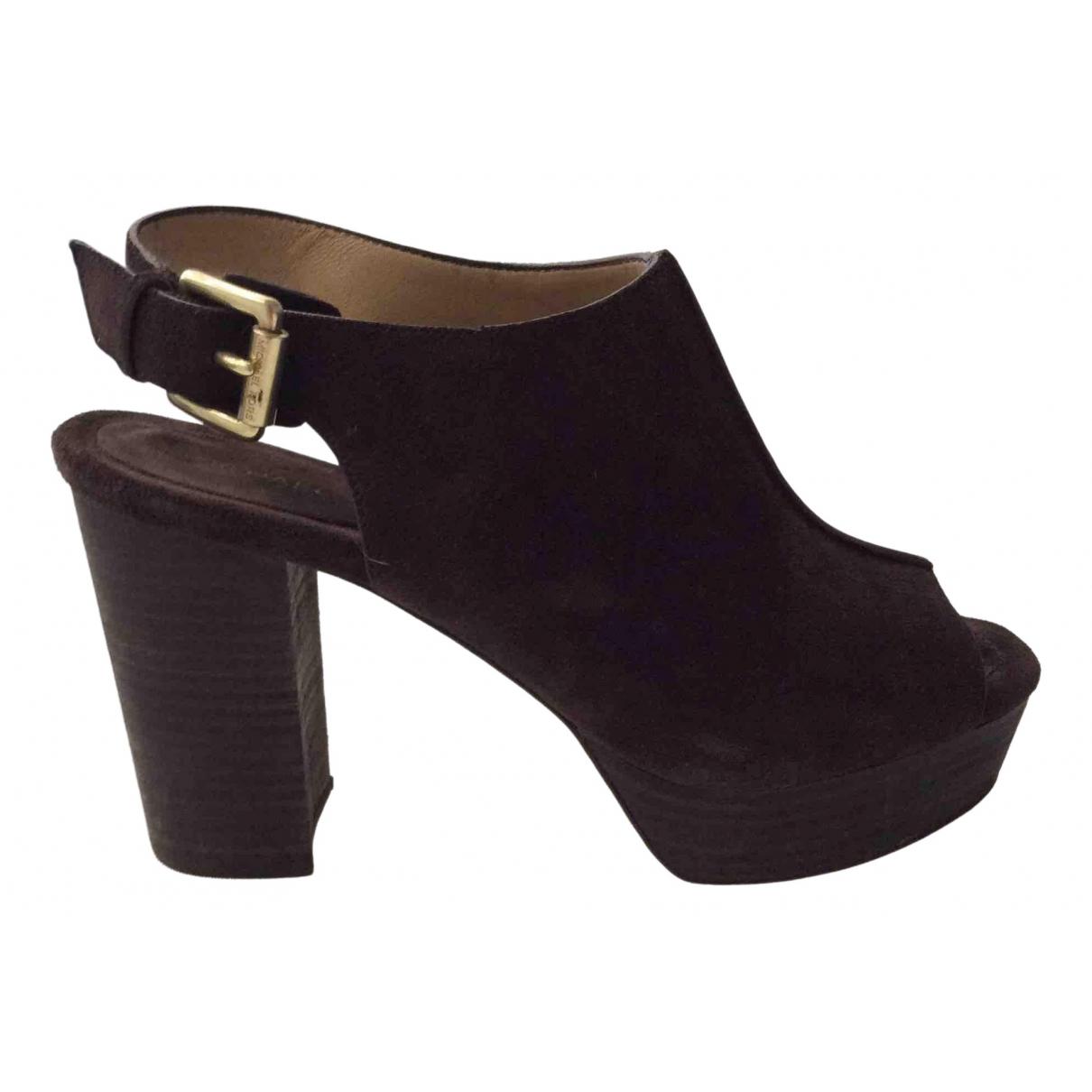 Michael Kors \N Brown Suede Sandals for Women 6.5 US