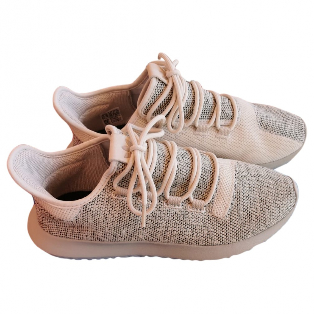 Adidas Tubular Beige Cloth Trainers for Men 42 IT