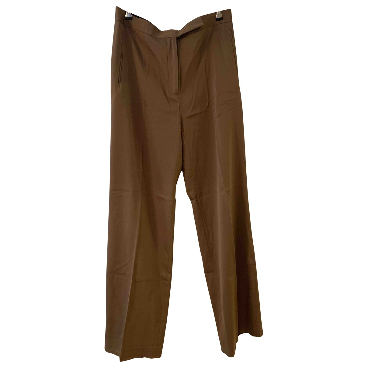 Cos \N Gold Trousers for Women 14 UK