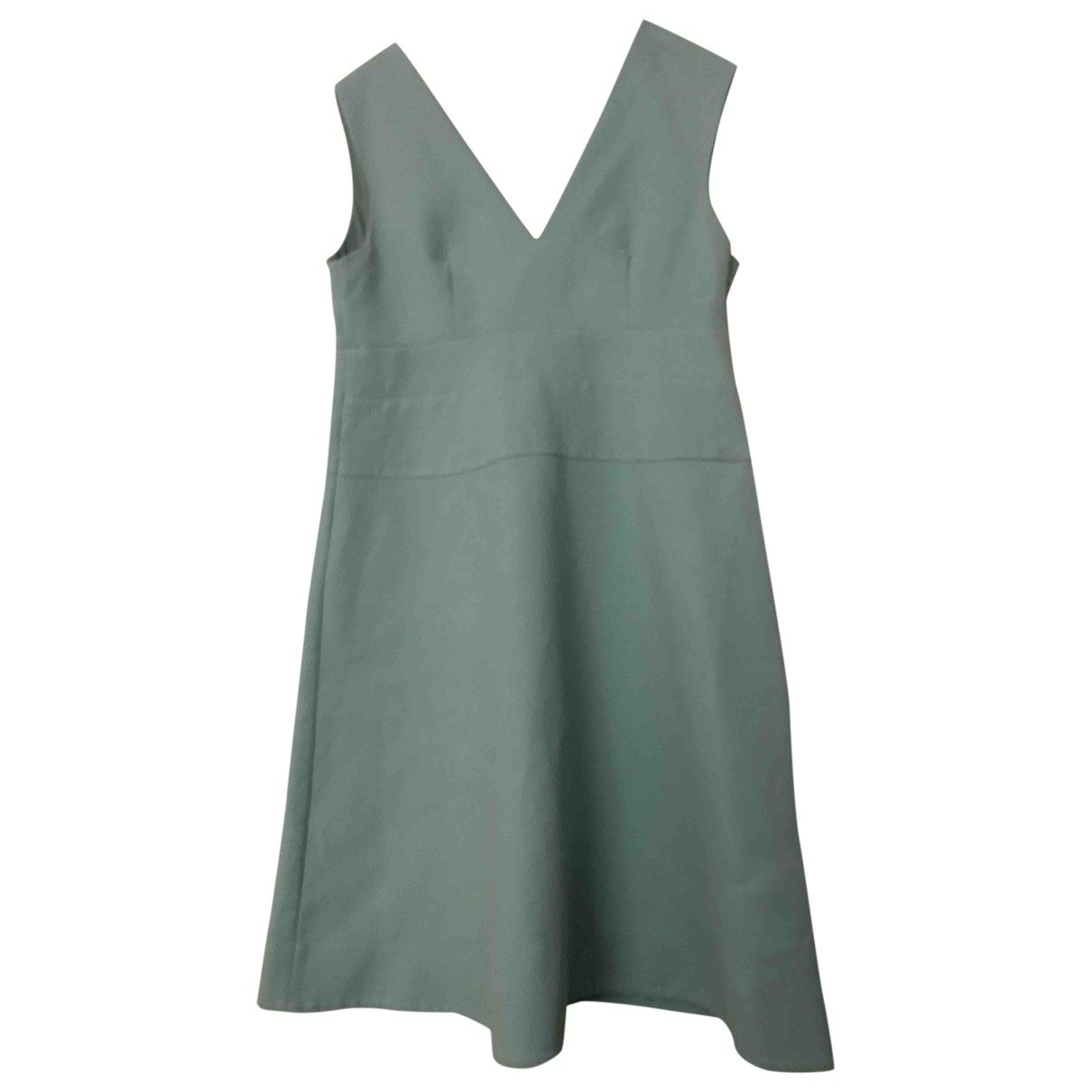 Marni \N Green Cotton dress for Women 46 IT