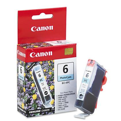 Canon BCI-6PC PhotoC Original Photo Cyan Ink Cartridge