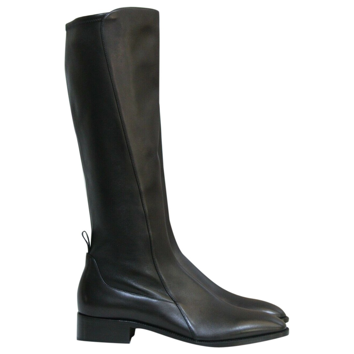 Christian Louboutin \N Black Leather Boots for Women 35 EU