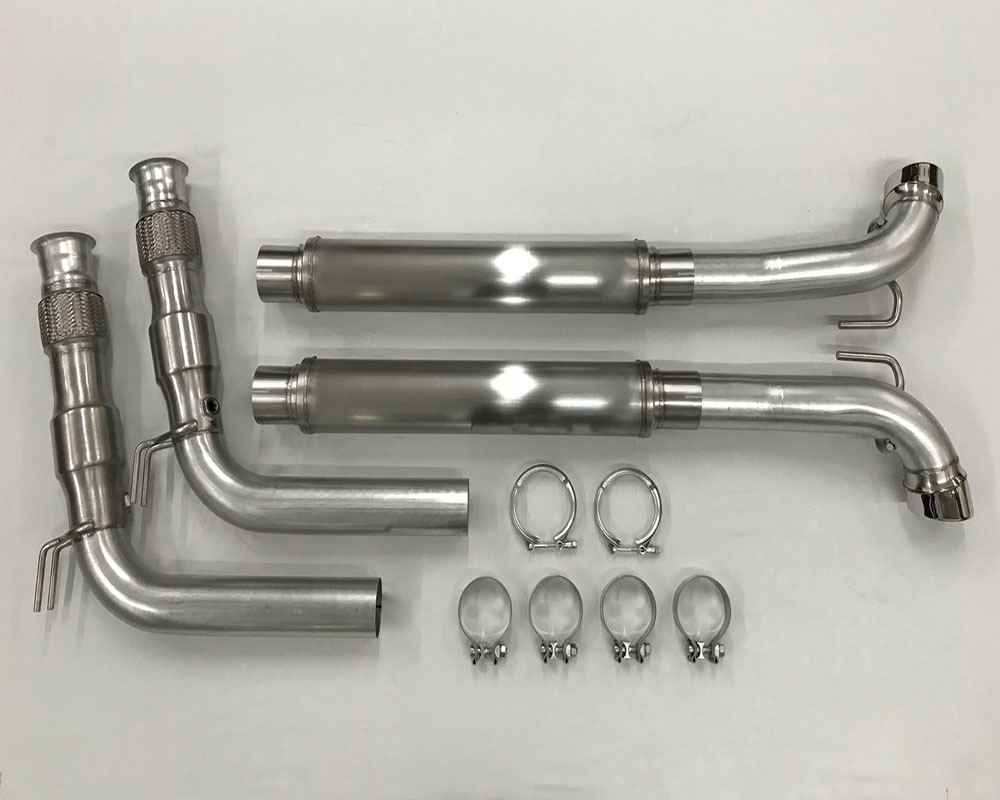 Belanger 5625-1 Mid Pipes w/ Cats | Flex Pipes and Brackets manifold and Cat Back Dodge ViperSRT Roadster | Coupe/ACR 08-10