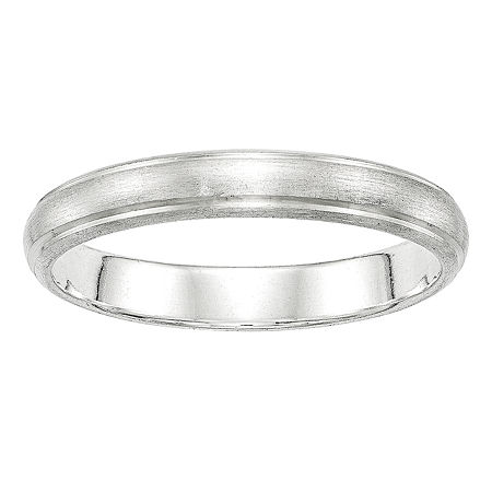 4MM Sterling Silver Wedding Band, 4 , No Color Family