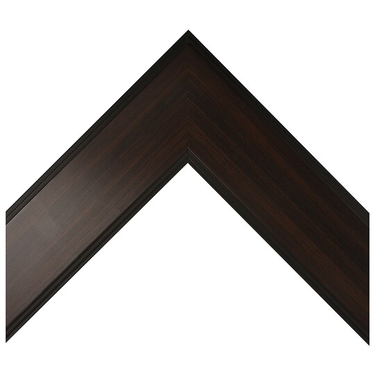 Flat Espresso Fade With Black Edges Custom Frame By Michaels® in Brown | 8 X 10 | Wood