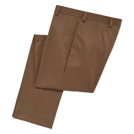 Collections By Michael Strahan Suit Pants - 8-20-Reg and Husky, 8 , Beige