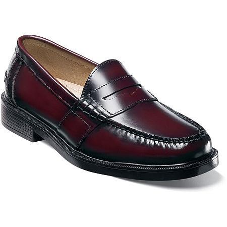 Nunn Bush Lincoln Mens Moc Toe Dress Penny Loafers, 8 Wide, No Color Family