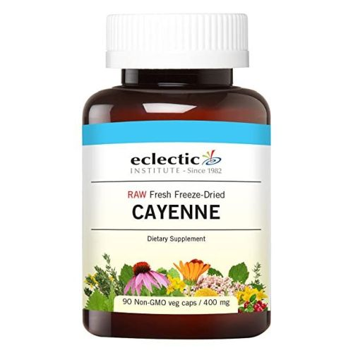Cayenne 90 Caps by Eclectic Institute Inc