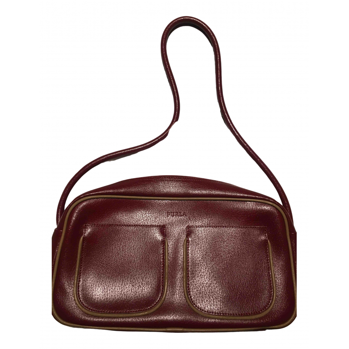 Furla \N Burgundy Leather handbag for Women \N