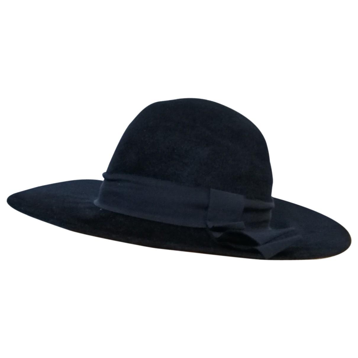 Saint Laurent \N Black hat for Women 57 cm