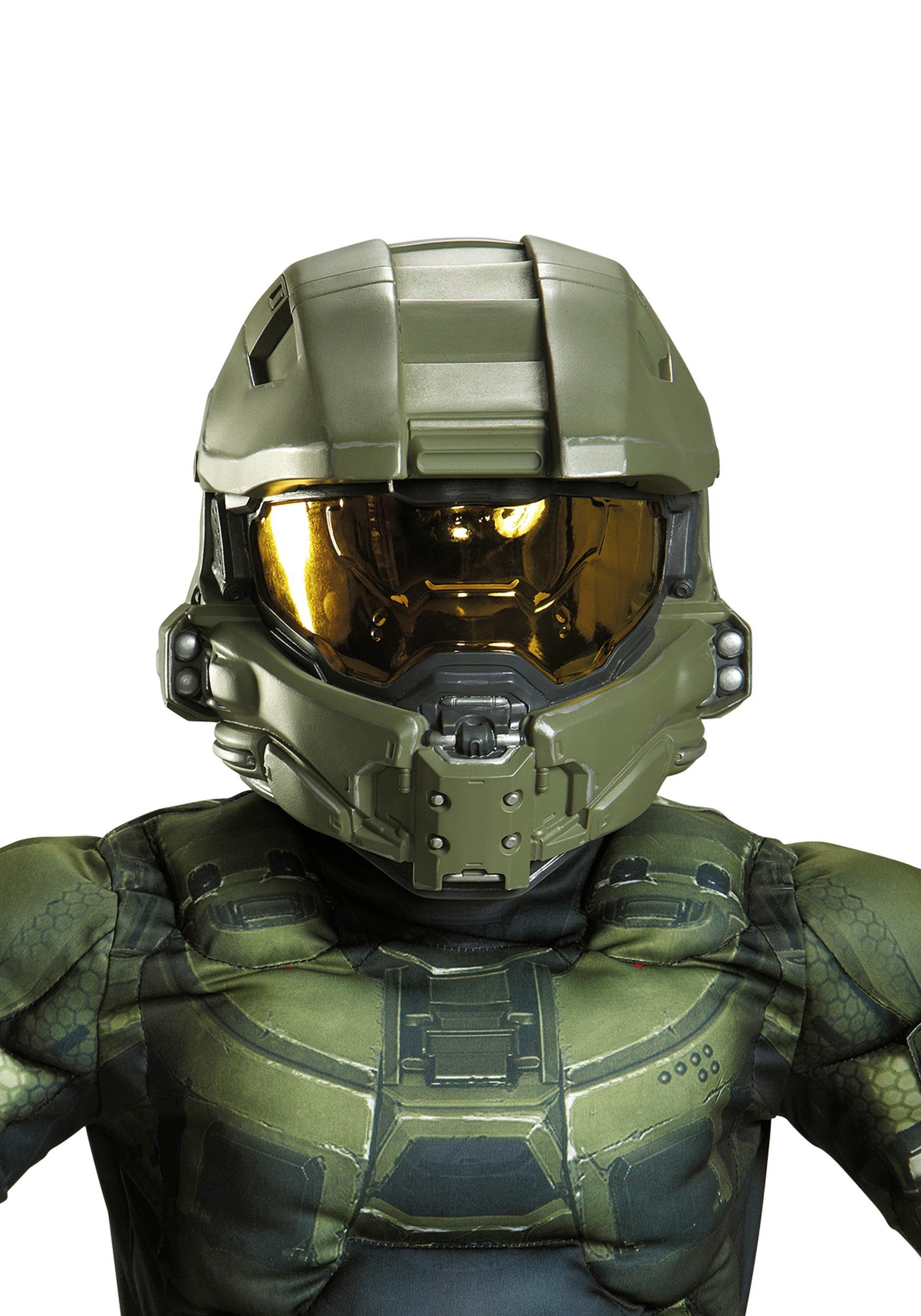 Master Chief Full Helmet for Kids