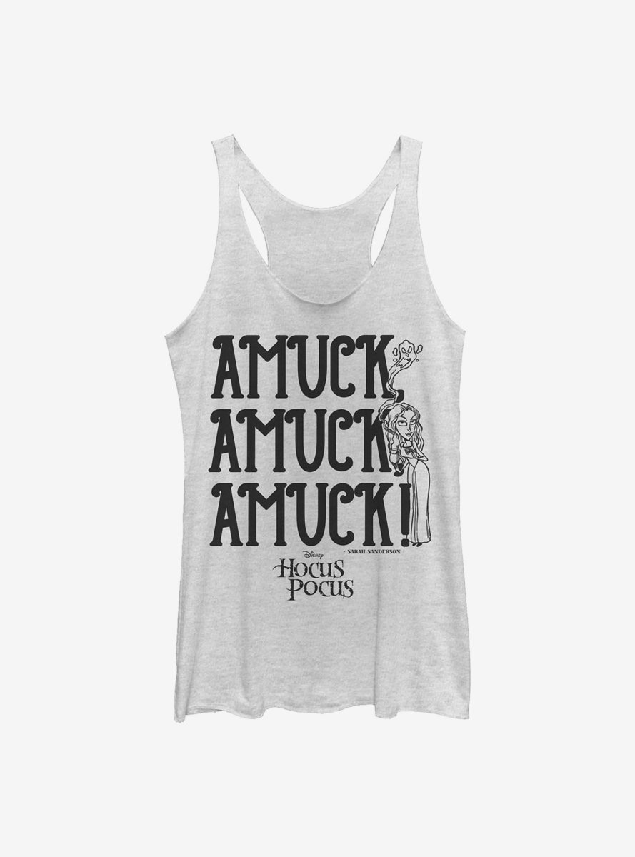 Disney Hocus Pocus Amuck Womens Tank Top