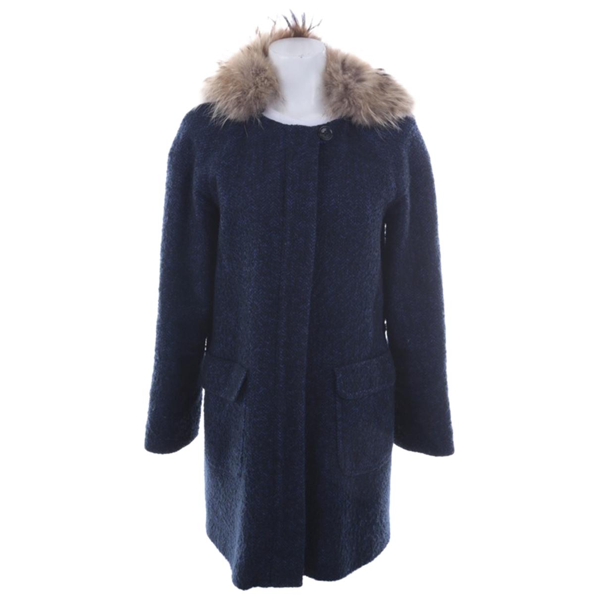 Iq+ Berlin \N Blue Cotton coat for Women 36 FR