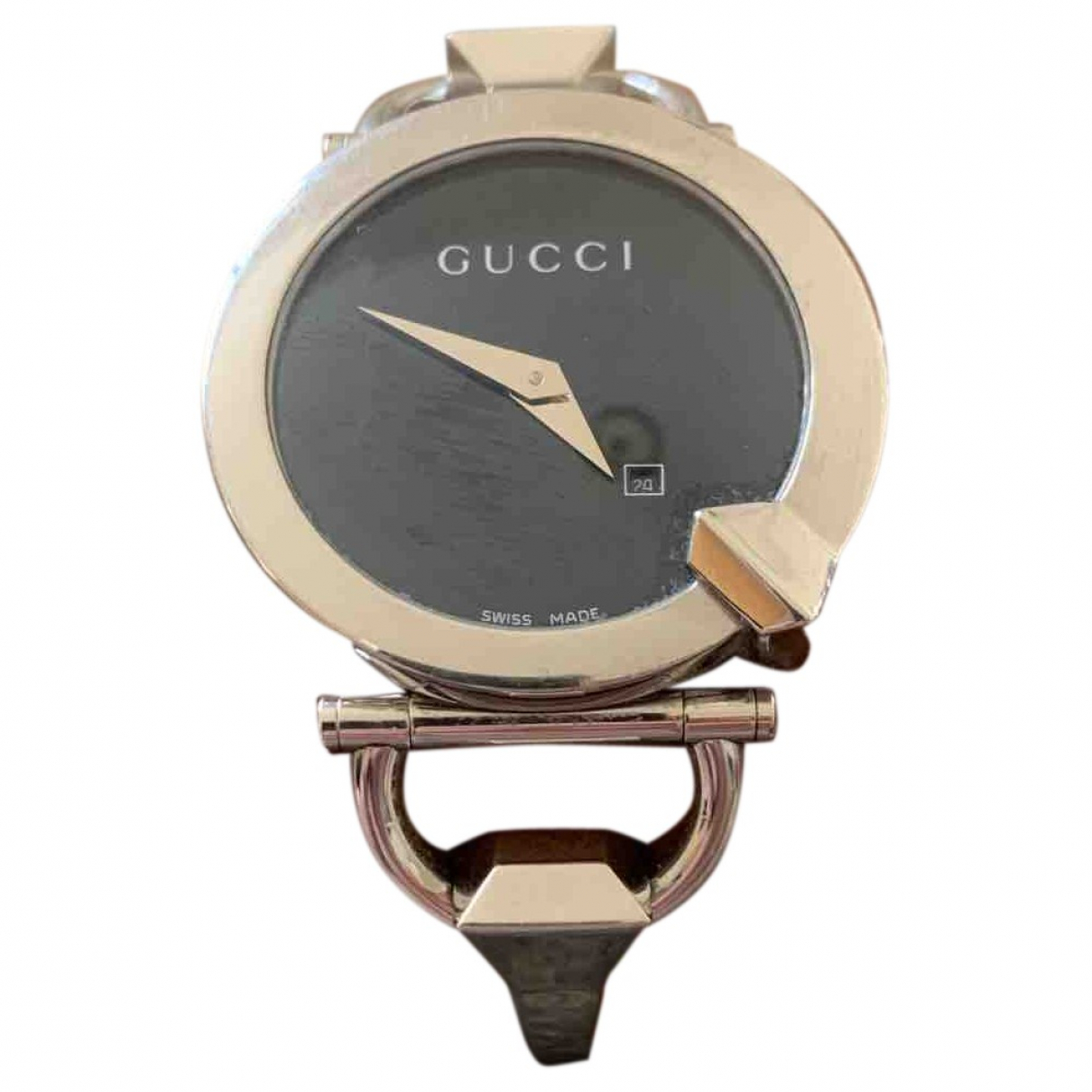 Gucci \N Black Steel watch for Women \N