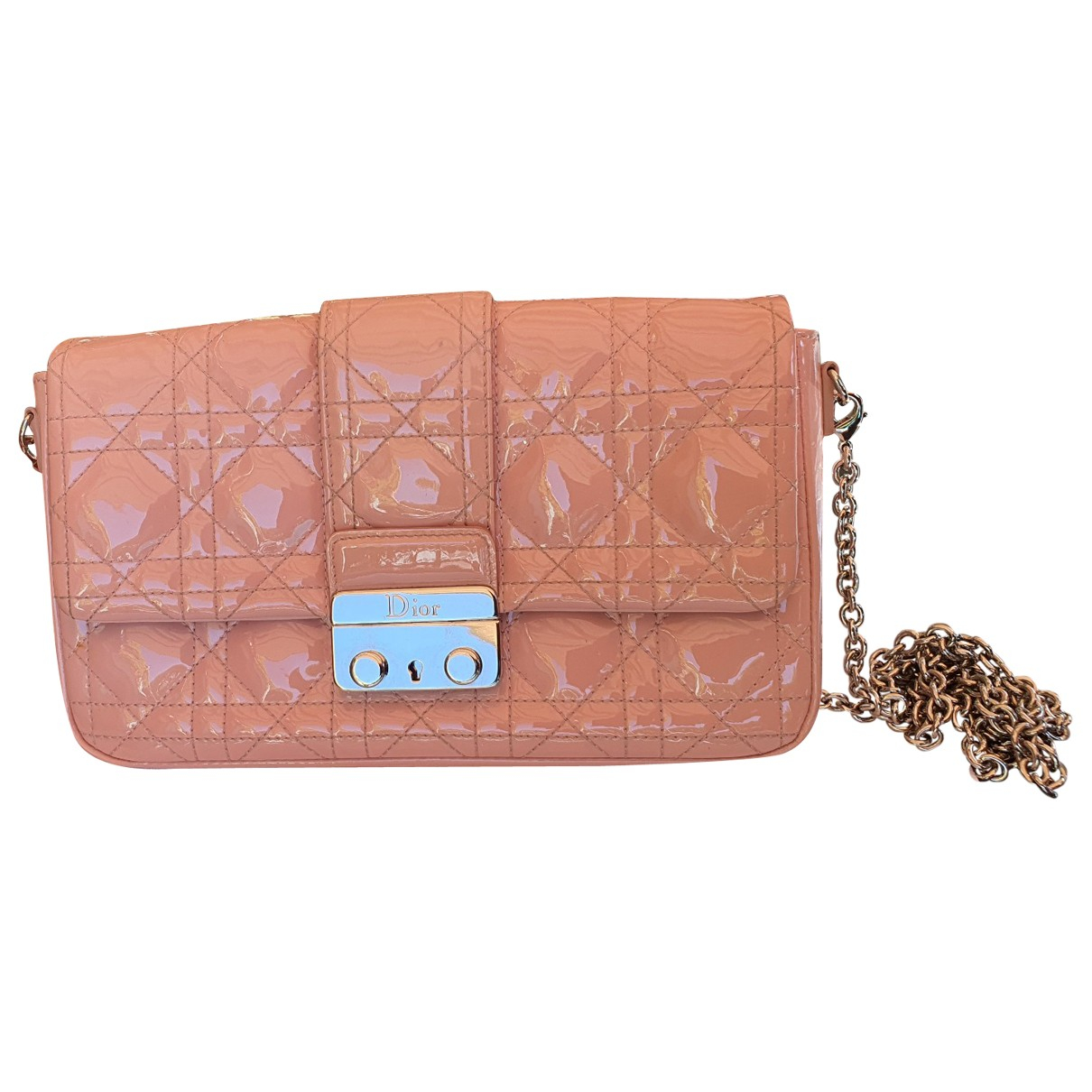 Dior Miss Dior Pink Patent leather Clutch bag for Women \N