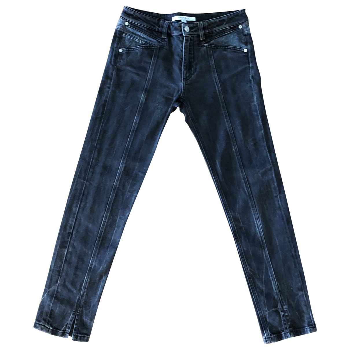 Givenchy \N Blue Denim - Jeans Trousers for Women 38 FR