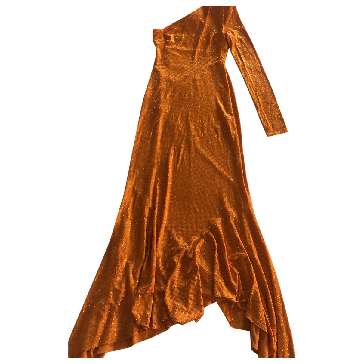 Alexandre Vauthier \N Orange dress for Women 36 FR