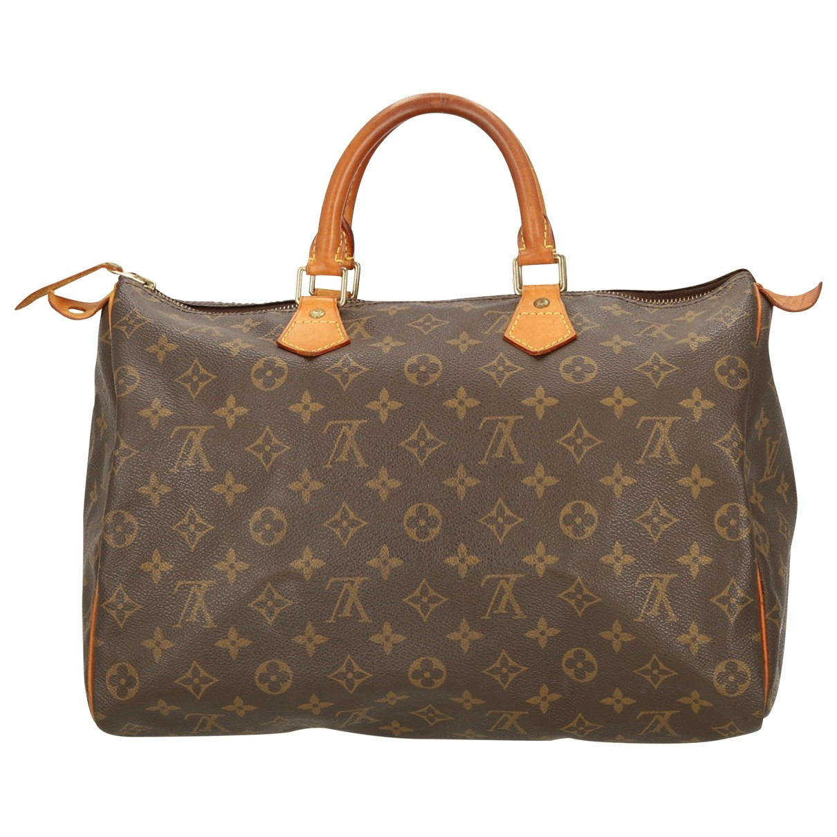 Louis Vuitton Speedy Black Cloth handbag for Women \N