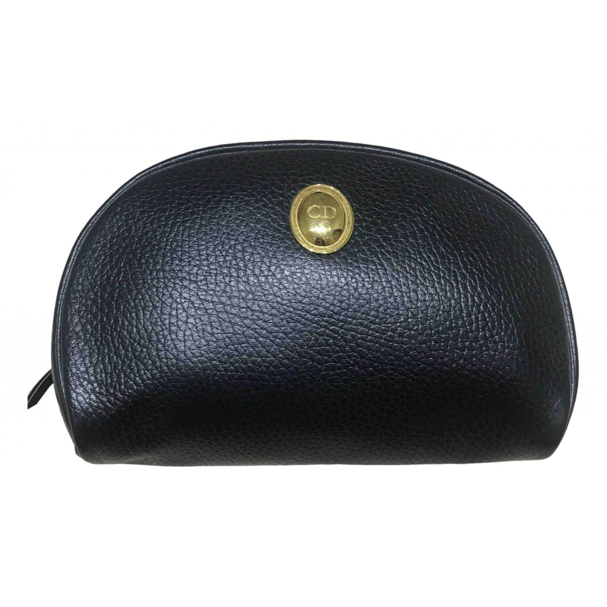 Dior \N Black Leather Travel bag for Women \N