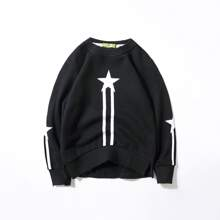 Toddler Boys Star & Striped Sweatshirt
