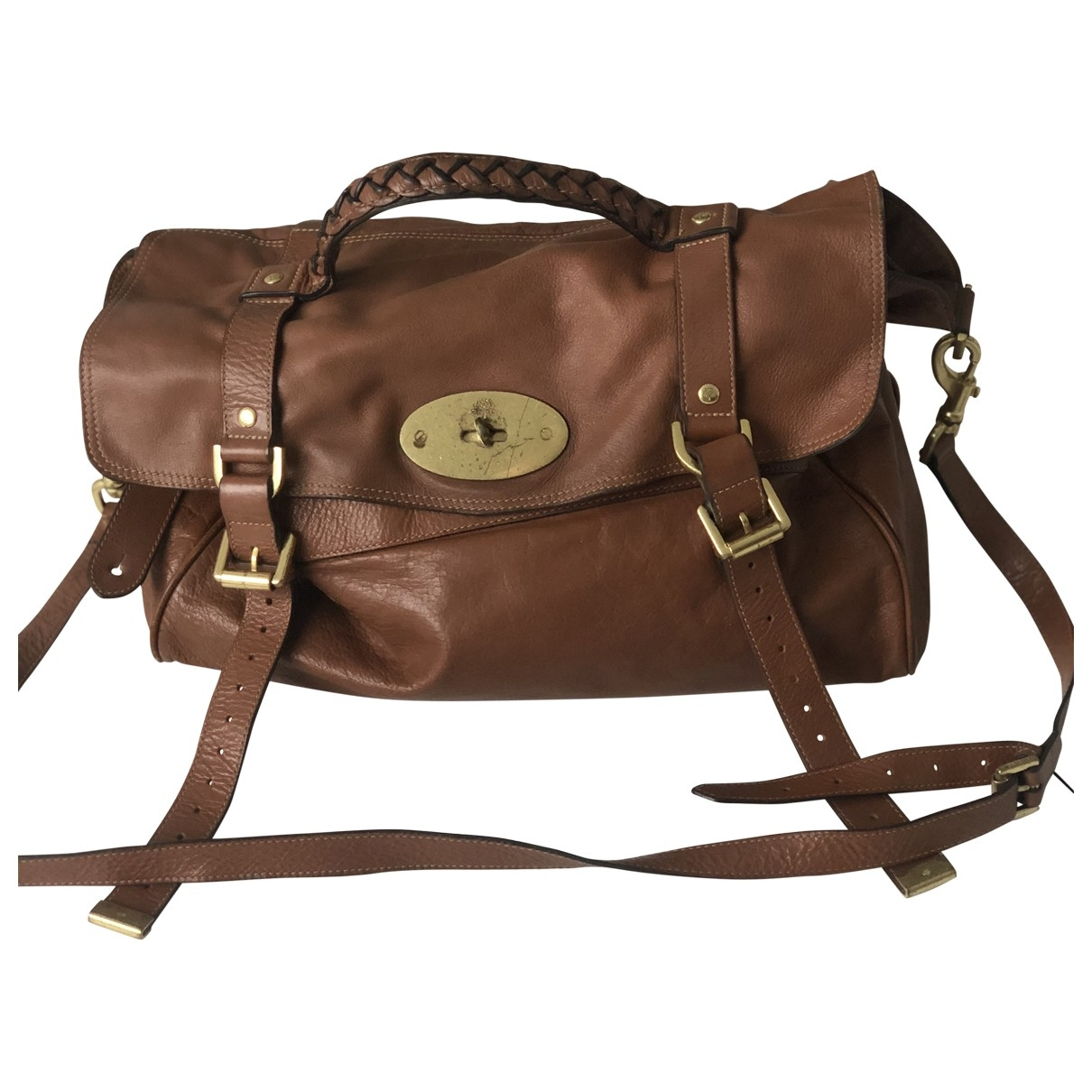 Mulberry Alexa Brown Leather handbag for Women \N